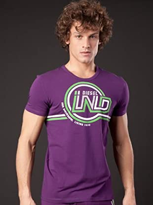 Diesel Camiseta Randal (Morado)