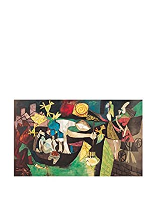 Artopweb Panel Decorativo Picasso Night Fishing at Antibes 45x75 cm Multicolor