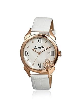 Bertha Women's BR2204 Clover White Leather Watch