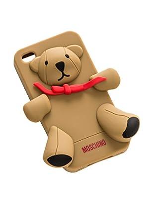 MOSCHINO Case iPhone 4/4S braun