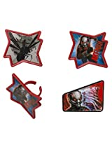 Marvel Ant-Man Redemption Cupcake Rings - 24 pcs