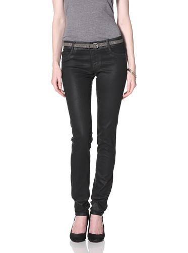DL 1961 Premium Denim Women's Britney Straight Leg Jeans (Wicked)