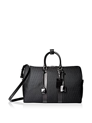 Saint-Laurent Jacquard Monogram Duffle, Black