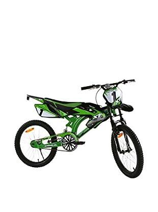 Schiano Cicli Bicicleta 20 Motobike 01V. Verde