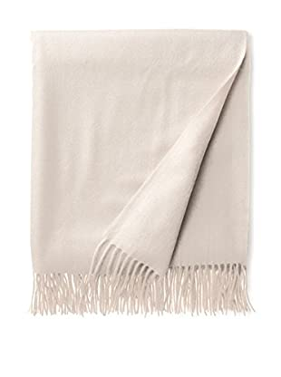 Amicale Cashmere Throw, Cream