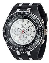 Exotica Analog White Dial Men's Watch (EF-01-BW-PL)