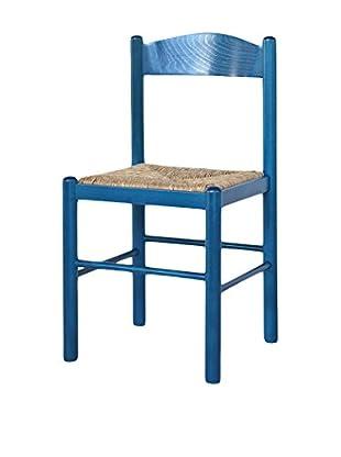 TINKEE Set Silla 2 Uds. Firenze Azul