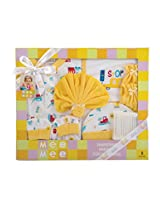 Mee Mee MM-33072 Pampering Present for New Borns Combo Set (Yellow)