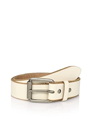 Bill Adler Men's Jelly Bean Belt (White)