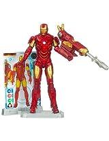 Iron Man 2 Movie 4 Inch Action Figure Iron Man Mark VI