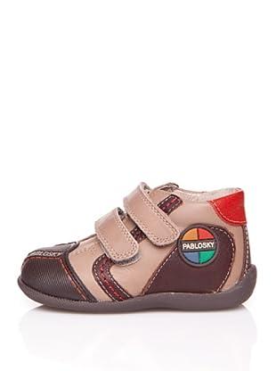 Pablosky Stiefel Gummikappe (Braun)
