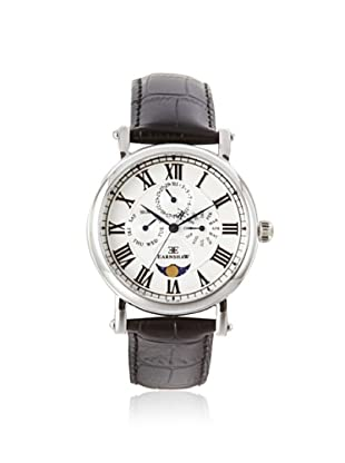 Earnshaw Men's 8031-01 Maskelyne Black/White Stainless Steel Watch