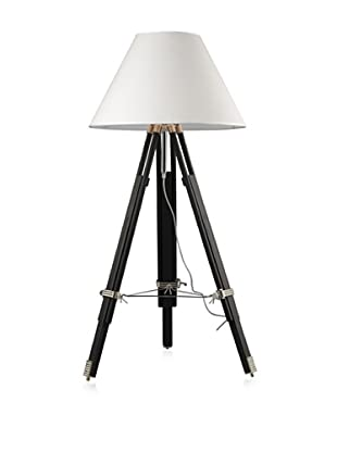 Artistic Lighting Studio Floor Lamp, Chrome/Black