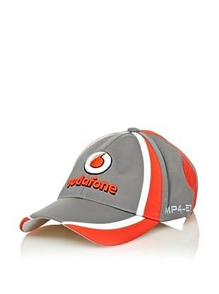 Vodafone McLaren Gorra Team (Plata / Rojo)