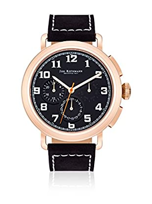Joh. Rothmann Reloj con movimiento cuarzo japonés  Negro 46 mm