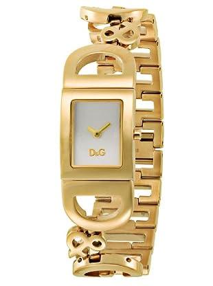 D&G DW0008 - Reloj de Señora cuarzo brazalete Dorado
