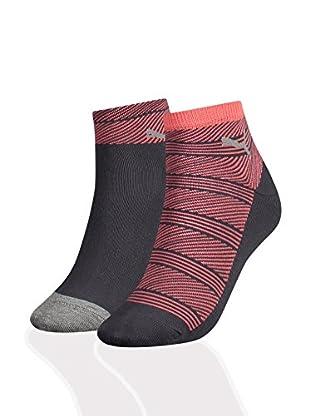 Puma 12tlg. Set Socken Women Quarter Stripe
