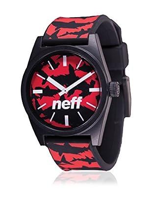Neff Quarzuhr Daily schwarz/rot 35  mm