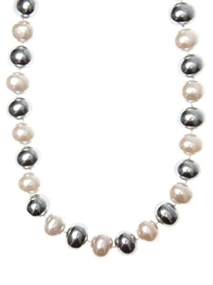 My Silver Collar Gris y Perla