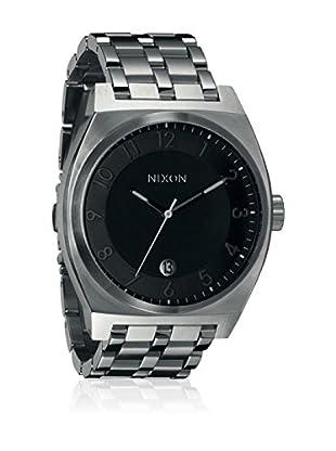 Nixon Uhr mit japanischem Quarzuhrwerk  grau 40 millimeters