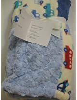 Baby Boy Soft Patchwork Automobiles Blanket