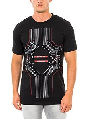 883 Police T-Shirt Manica Corta Microcheap Heart