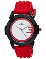 Aveiro Fashion Analog White Men's Watch (AV48WHTRED)