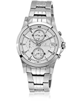 F8060Ppp Silver/White Chronograph Watches
