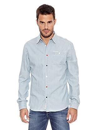 Pepe Jeans London Camisa Hombre Royal (Azul)