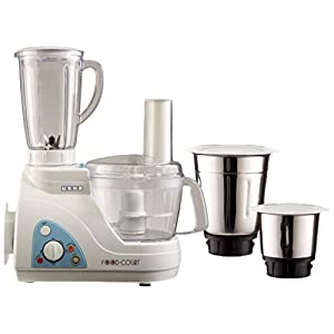 Usha 2663 600-Watt Food Processor (White)