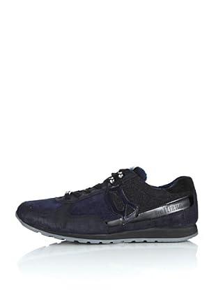 Galliano Zapatillas Lido (Azul Noche / Negro)