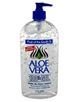 Fruit Of The Earth 100% Aloe Vera 24oz Gel Pump (6 Pack)