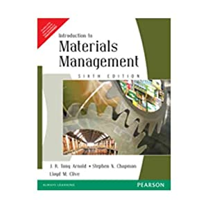 Introduction to Materials Management, 6e