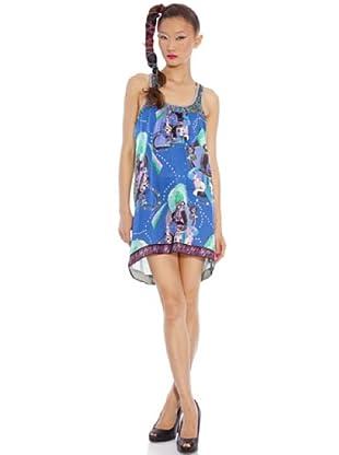 Custo Vestido Sveta (Azul)