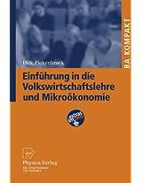 Einfuhrung in Die Volkswirtschaftslehre Und Mikrookonomie (Ba Kompakt)