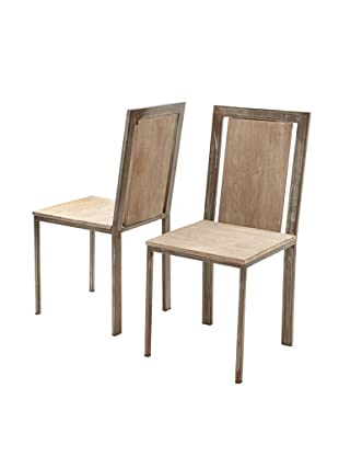 Zalva Set of 2 Laxmi Dining Chairs
