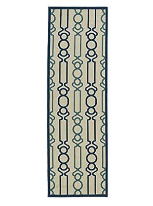 Kaleen Five Seasons Indoor/Outdoor Rug, Navy, 2' 6