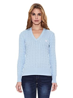 Polo Club Jersey Braided (Azul Celeste)