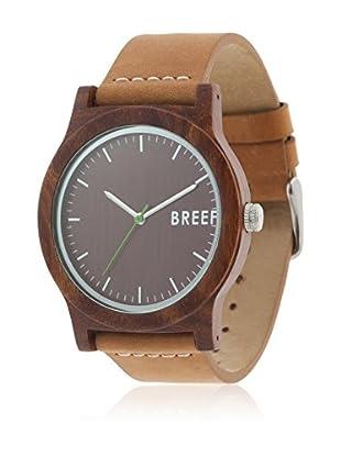 BREEF WATCHES Uhr mit japanischem Uhrwerk Unisex SANDALWOOD ORIGINAL 44 mm
