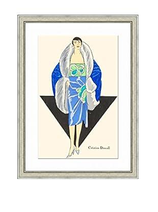 Art Source Winter Fashion Lady Print I, Multi