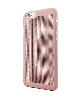 NUEBOO Hülle Microperforada iPhone 6/6S rosa