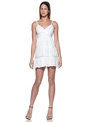 Crema Vestido Mini (Blanco)