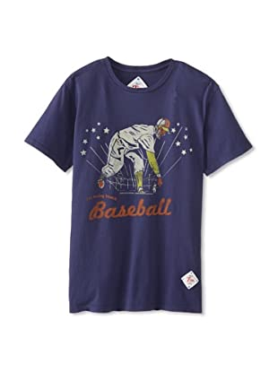 7th Inning Stretch Men's Big Show T-Shirt (Ink Blue)