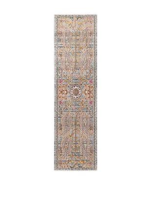 ABC Tappeti Teppich Bright grau/mehrfarbig 57 x 200 cm