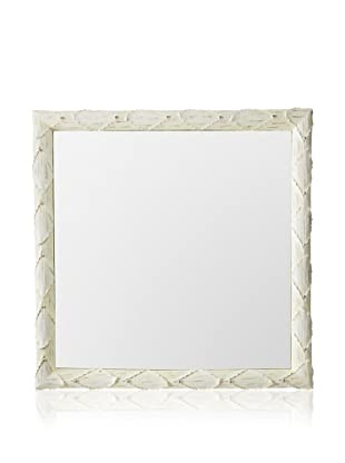 Tozai Acanthus Wall Mirror, Cream