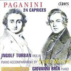 輸入盤 トゥルバン(Vn)&ブリア(P) パガニーニ:24のカプリース(シューマンによるピアノ伴奏版)のAmazonの商品頁を開く