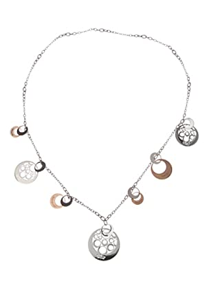 Rebecca XGRKXB53 - Collar de mujer de acero inoxidable y bronce