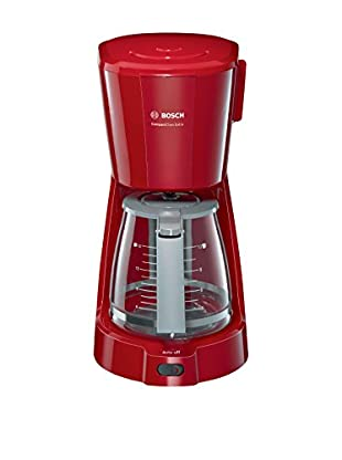 Bosch Cafetera de Goteo TKA3A034 Gris/Rojo