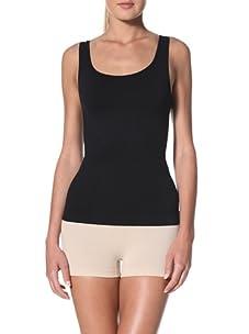 Cass Women's Scoop Skinny Top (Black)