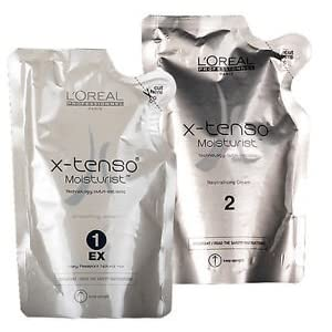 L'OREAL X-TENSO STRAIGHTENING HAIR CREAM (FOR VERY RESISTANT NATURAL HAIR)